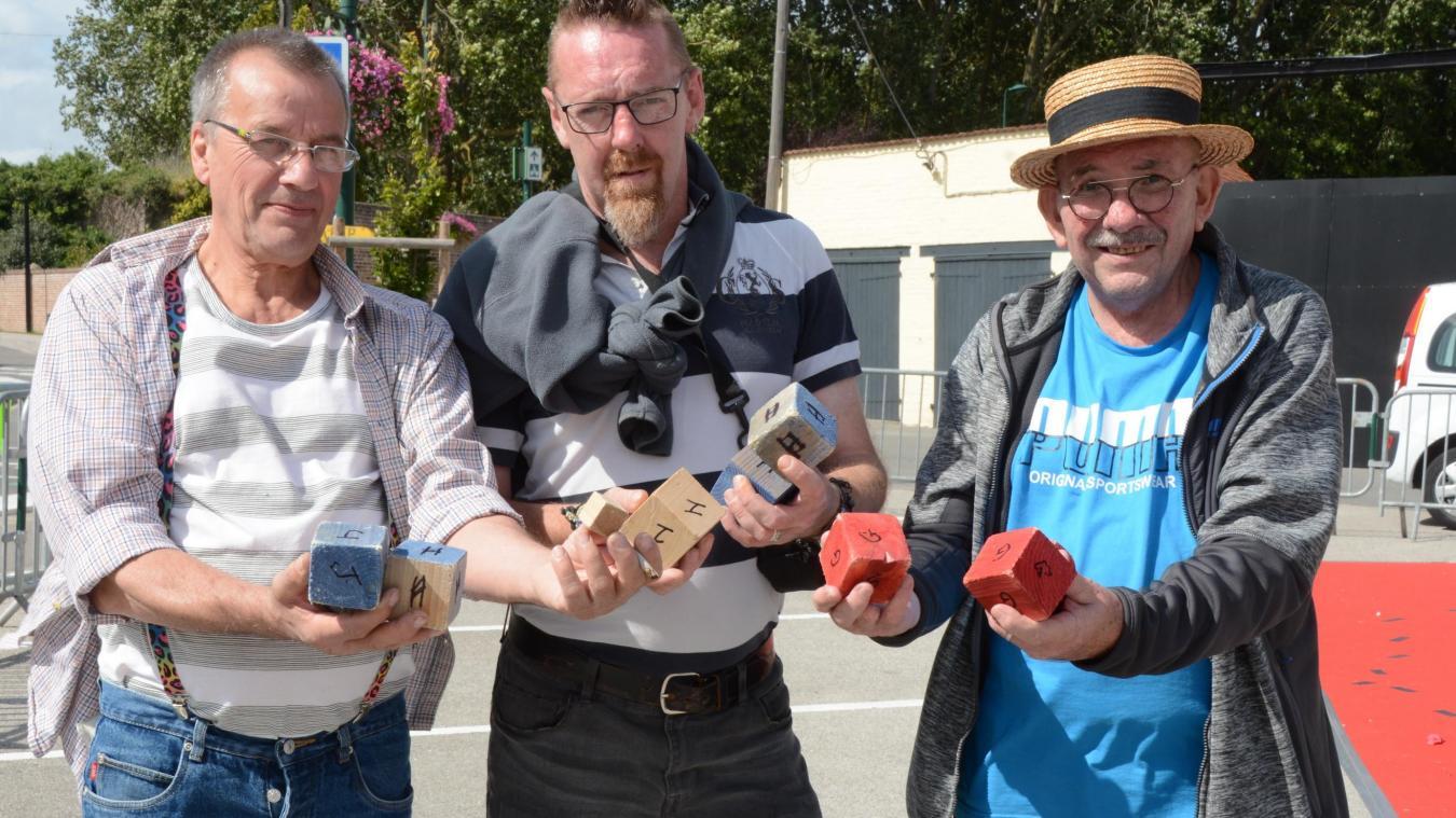 Alain a découvert le jeu des boules carrées aux côtés de Gaëtan Delacuisine et Jean-Paul Bernard.