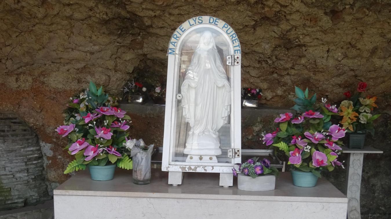La messe ne peut se faire à la grotte de Vieux-Berquin ce 15 août.