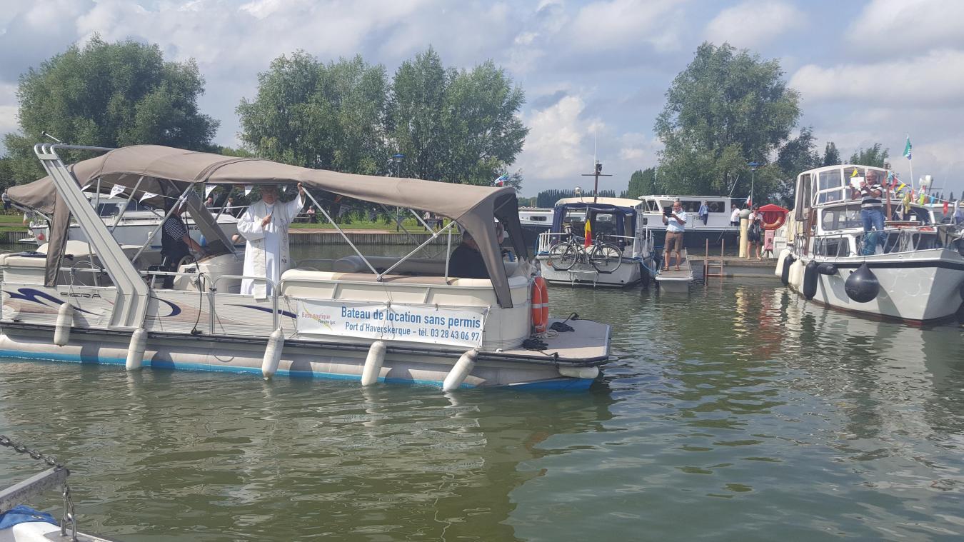 La bénédiction des bateaux aura lieu à 15 heures. Photo archives