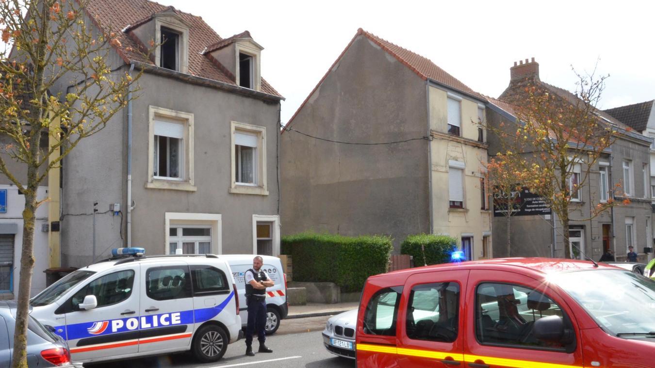 Boulogne-sur-Mer : un logement détruit par le feu au Chemin-Vert
