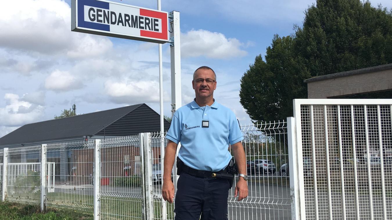 Le capitaine Christian Gervois est, depuis le 1 er  août, adjoint à la Compagnie d'Hazebrouck.