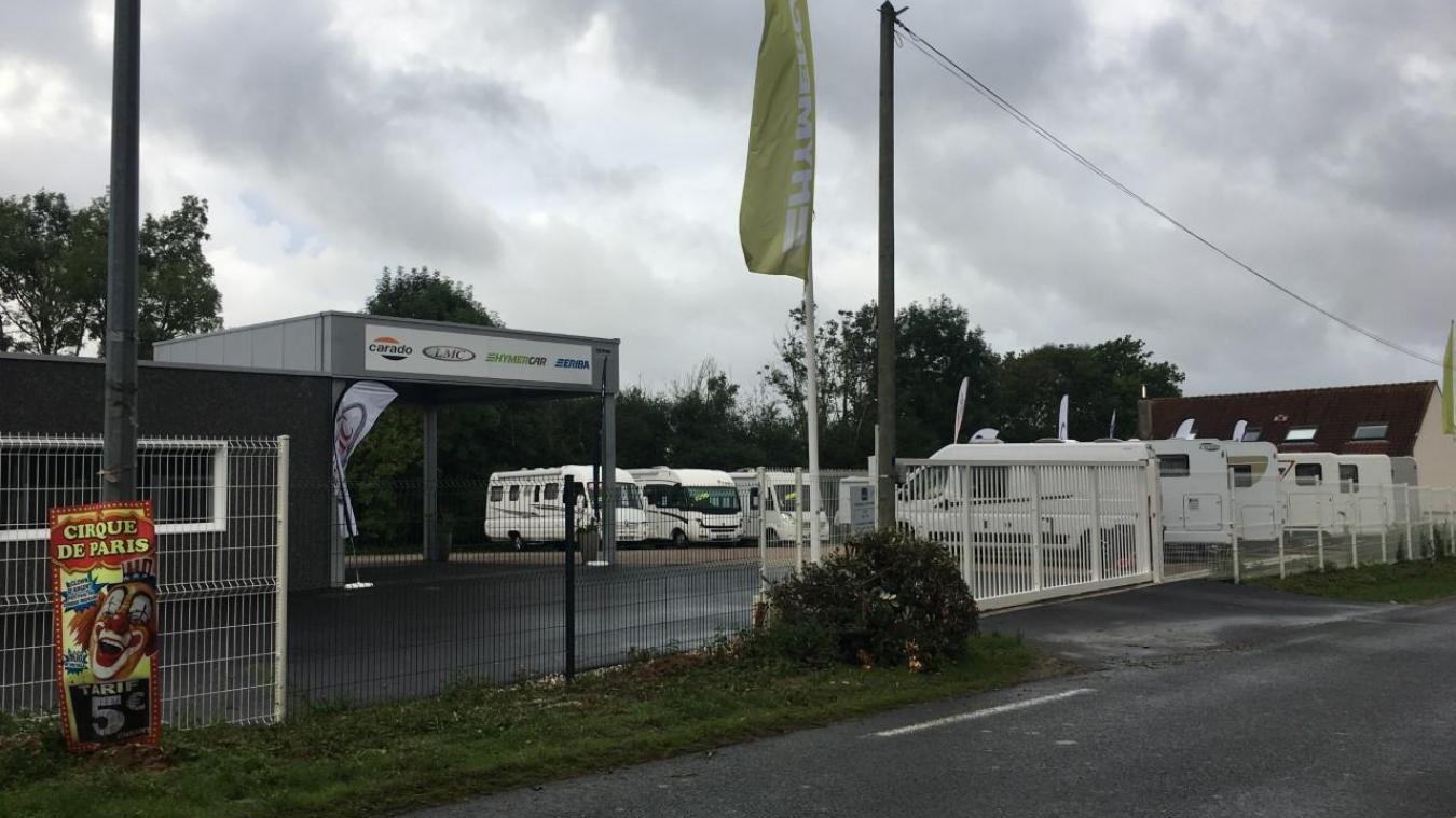 La société Littoral VDL est installée à Attin depuis peu, route d'Etaples.