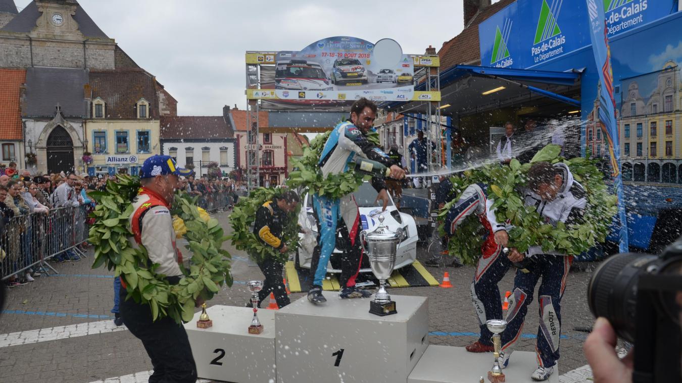 Anthony Puppo et son copilote Adrien Bonicel, favoris de l'épreuve, avaient mis tout le monde d'accord en 2018 lors des spéciales du Rallye du Boulonnais.