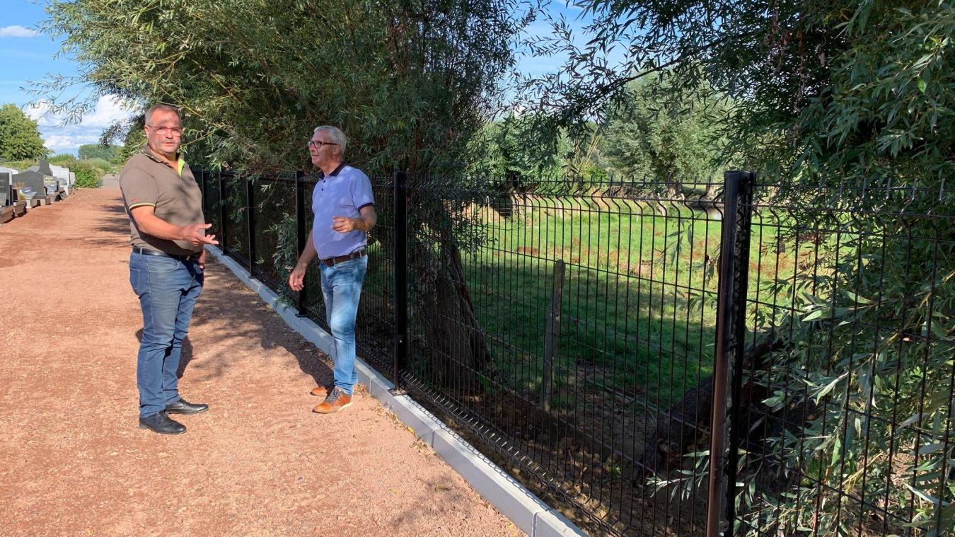 Des aménagements pour sécuriser le cimetière