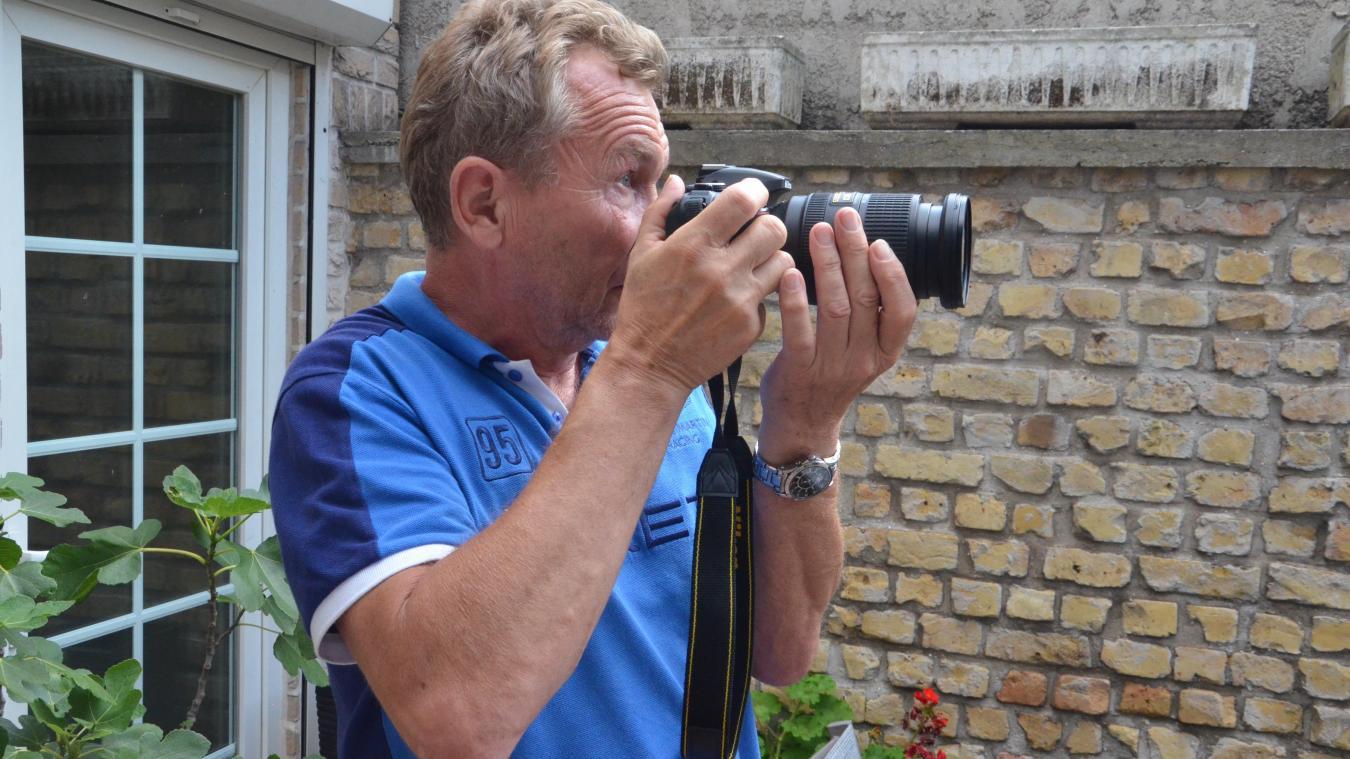 Pierre Laurens se promène le plus souvent sur le territoire appareil photo à la main. Retrouvez chaque semaine, cet été, le portrait d'un correspondant local de presse.