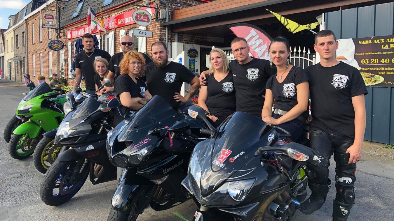 Les membres du club d'Haverskerque ont pour objectif de relancer la fête de la moto.