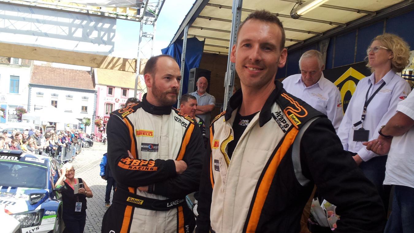 Première victoire pour Marc et Freddy Lance au rallye du Boulonnais.