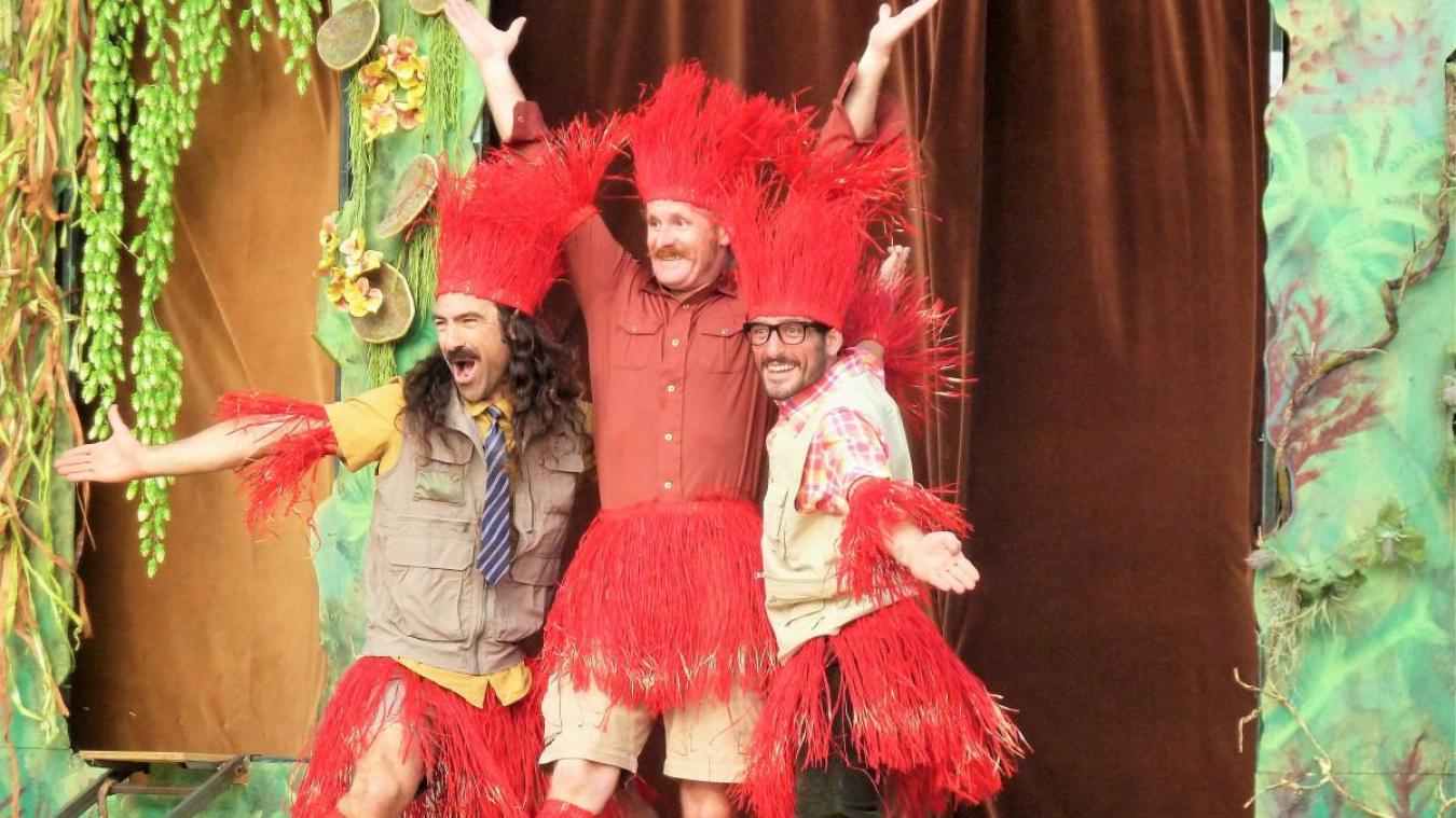 La compagnie Five Foo Fingers présentera son spectacle déjanté Jungle five.