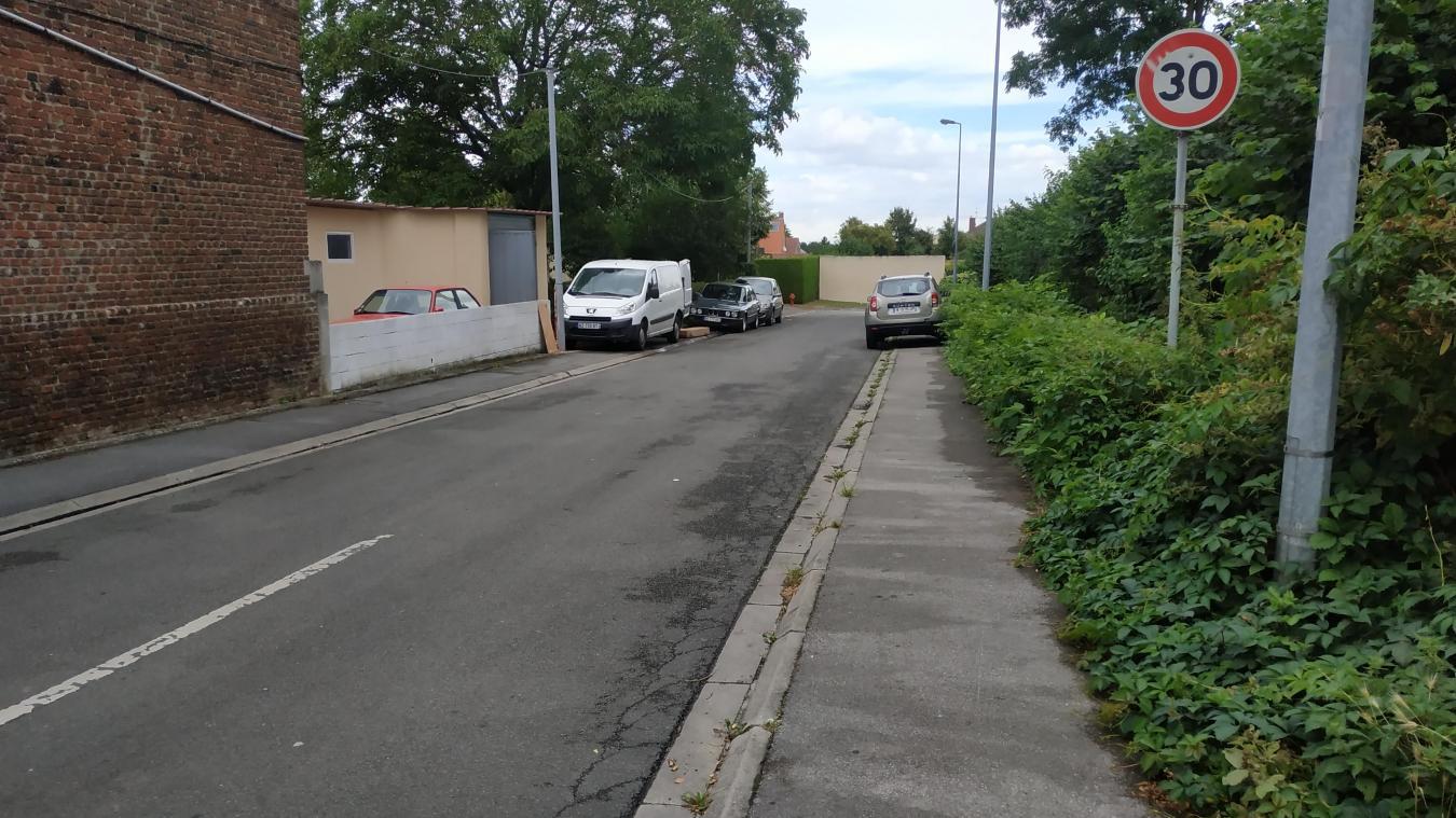 Le chemin des Hérissons est une rue très calme et tranquille.