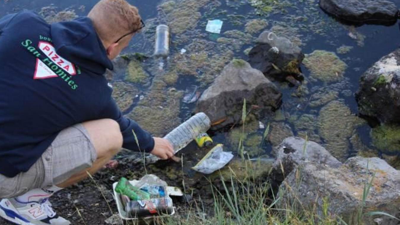 Les jeunes Dunkerquois de DK Clean Up ont déjà effectué du ramassage de déchets sur la jetée dunkerquoise.