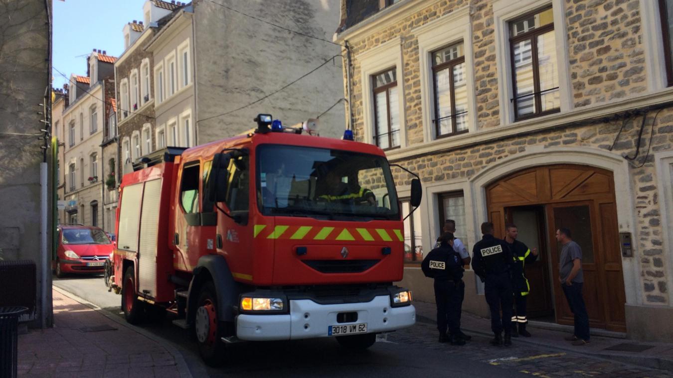 Boulogne-sur-Mer : Un homme intoxiqué par la fumée