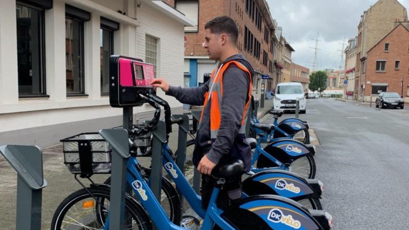 Le nouveau vélo, plus dynamique et le nouveau boîtier, tout en rose, sont en cours de déploiement.