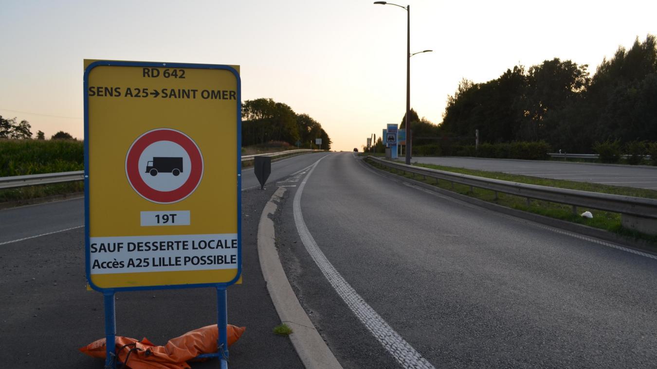 Les 19 tonnes désormais interdits sur la RD 642