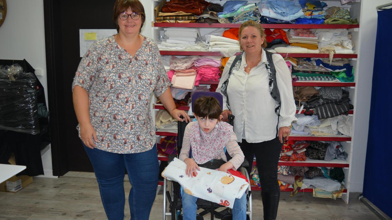 Divion : elles créent des vêtements adaptés au handicap