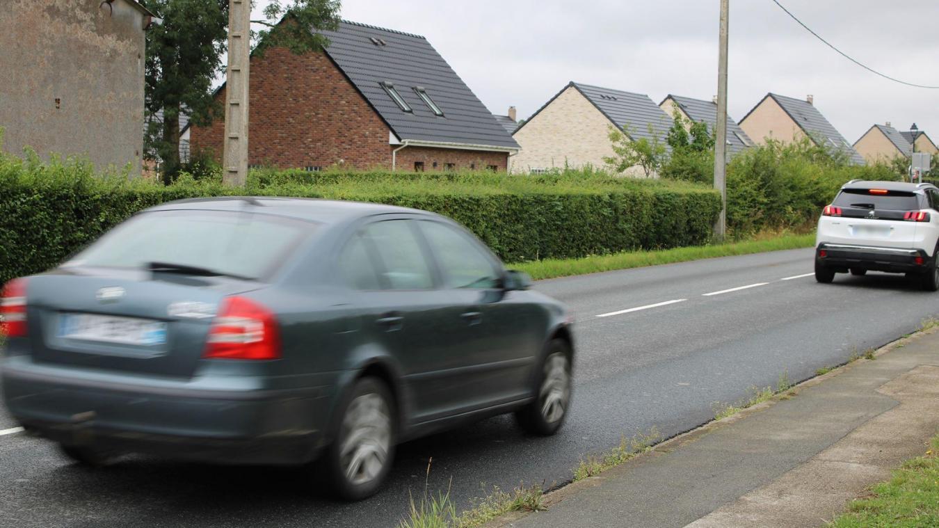 La vitesse relevée route de Saint-Omer inquiète