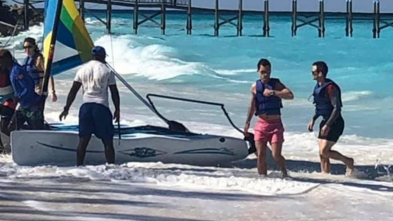 Stéphane Sieczkowski-Samier est actuellement en vacances sur une plage des Bahamas, un archipel en plein Océan Atlantique situé entre la Floride et Cuba.