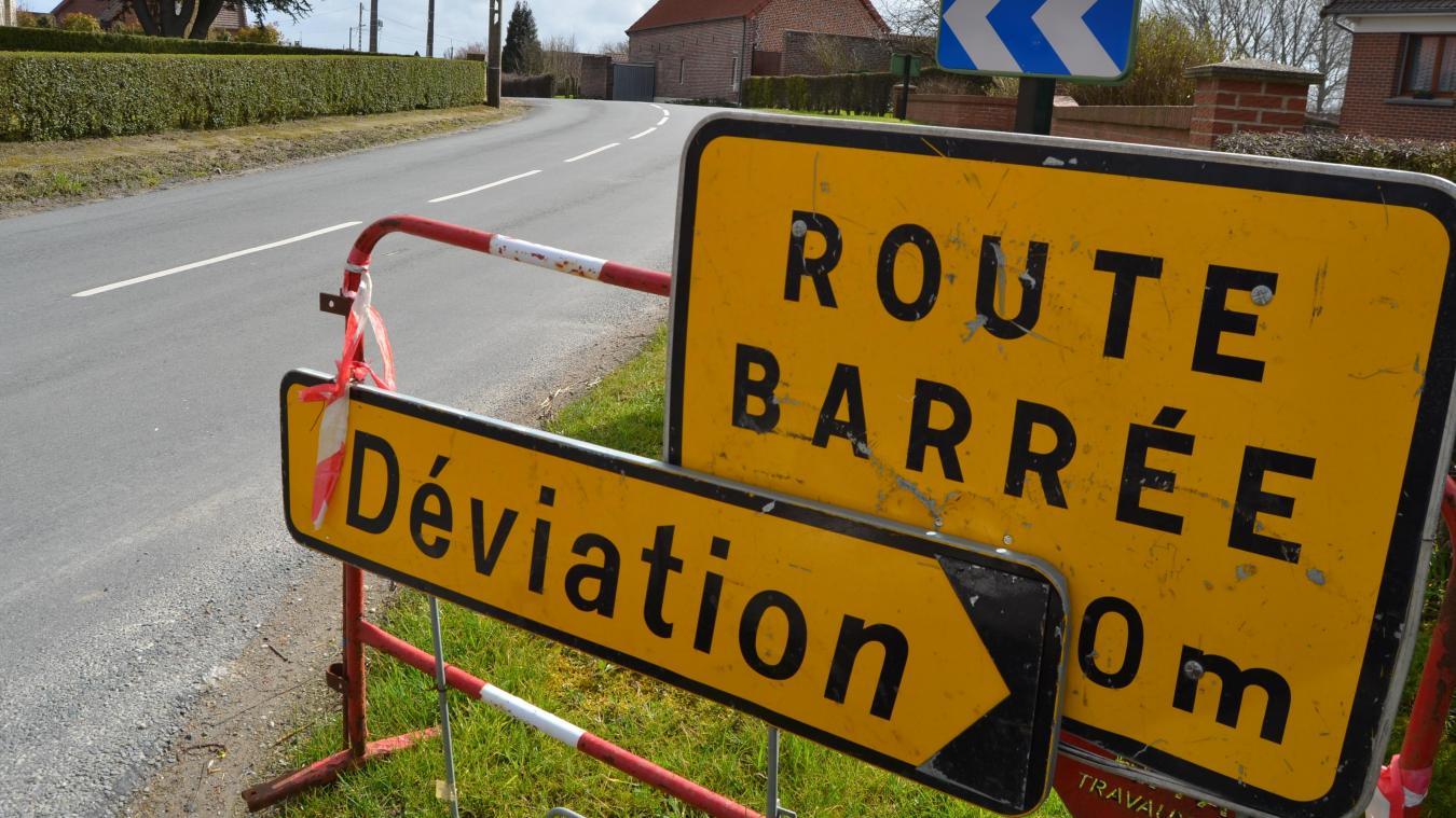 Aire-sur-la-Lys: 3 mois de travaux RD 194 (rue de Merville)