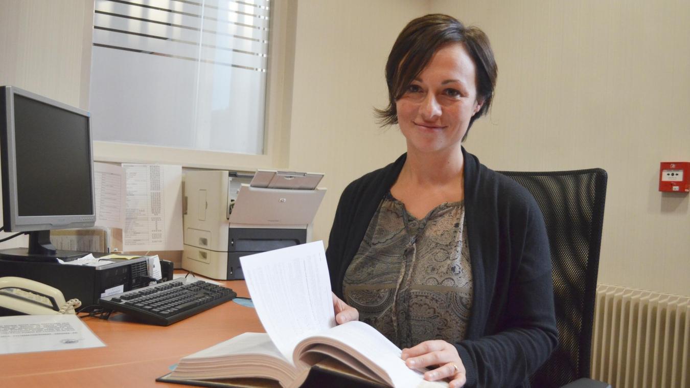 Céline Ingelaere, adjointe à la citoyenneté et la démocratie participative à la mairie de Steenvoorde, est à l'origine du projet de budget participatif.