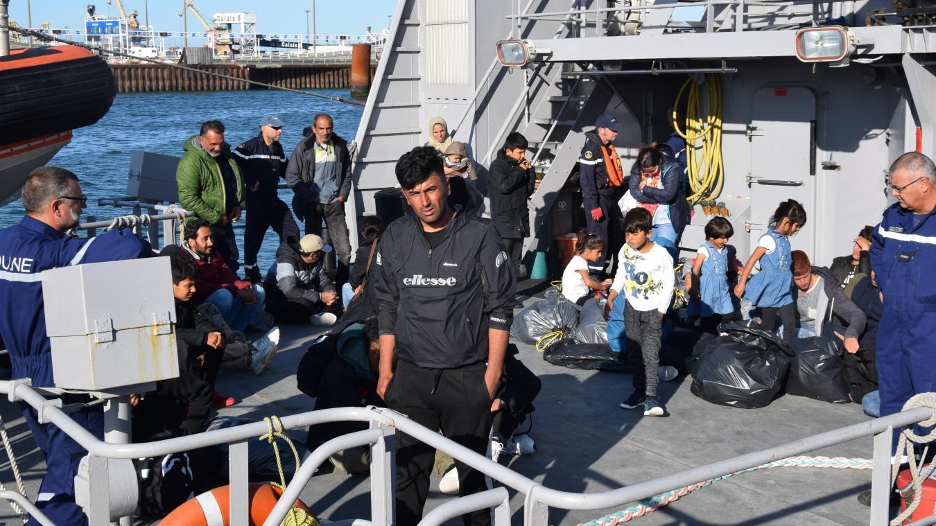 Ce jeudi 22 août, 30 migrants avaient déjà été secourus au large de Berck et ramenés à Calais.