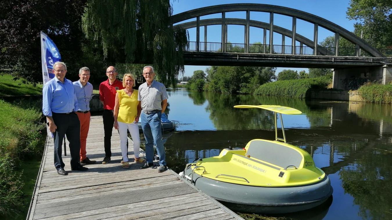 Les bateaux électriques sont de retour à Merville