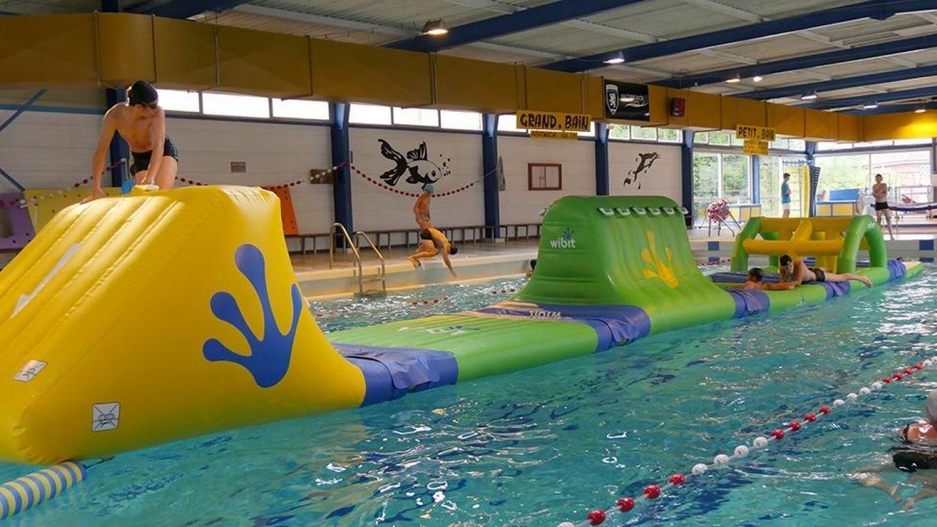 La piscine d'Hazebrouck étend ses horaires. L'occasion de tester la structure gonflable.