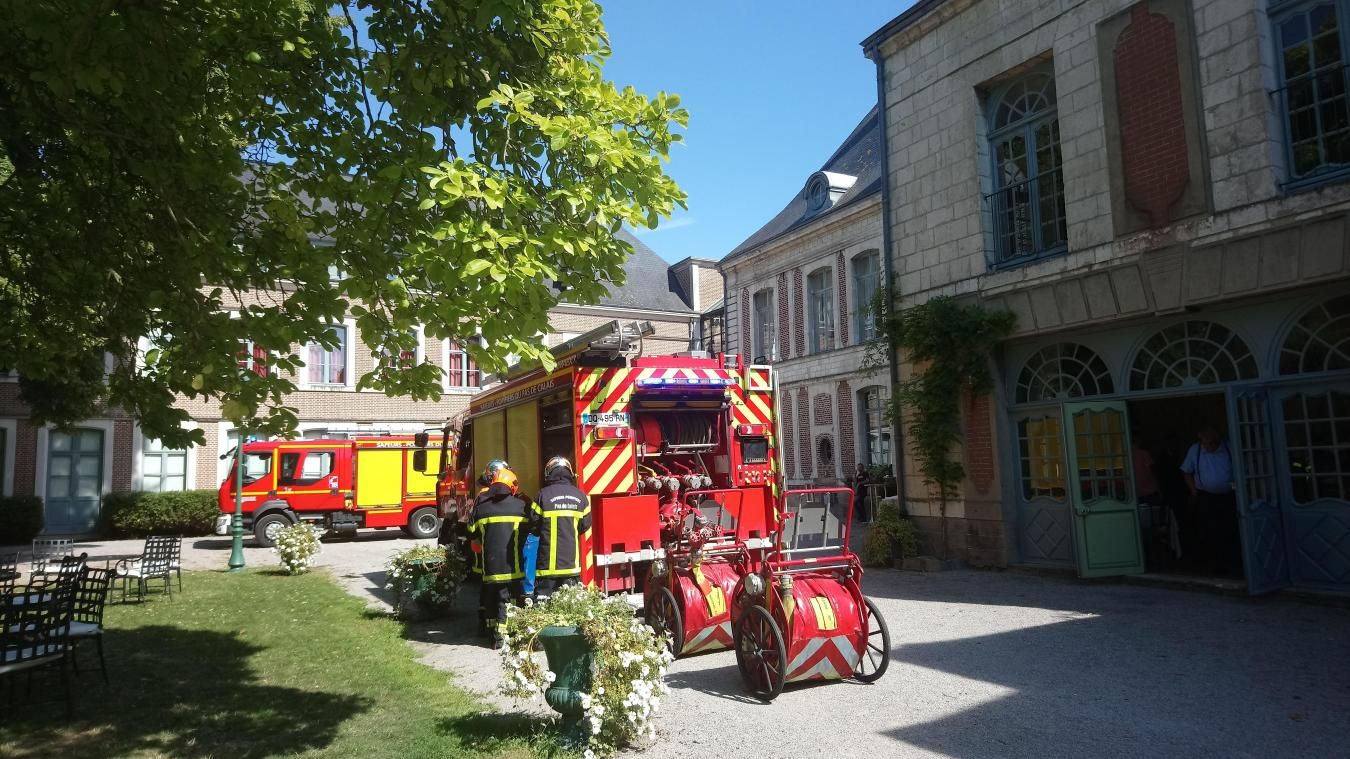 Gosnay : les sapeurs-pompiers interviennent pour un incendie à La Chartreuse