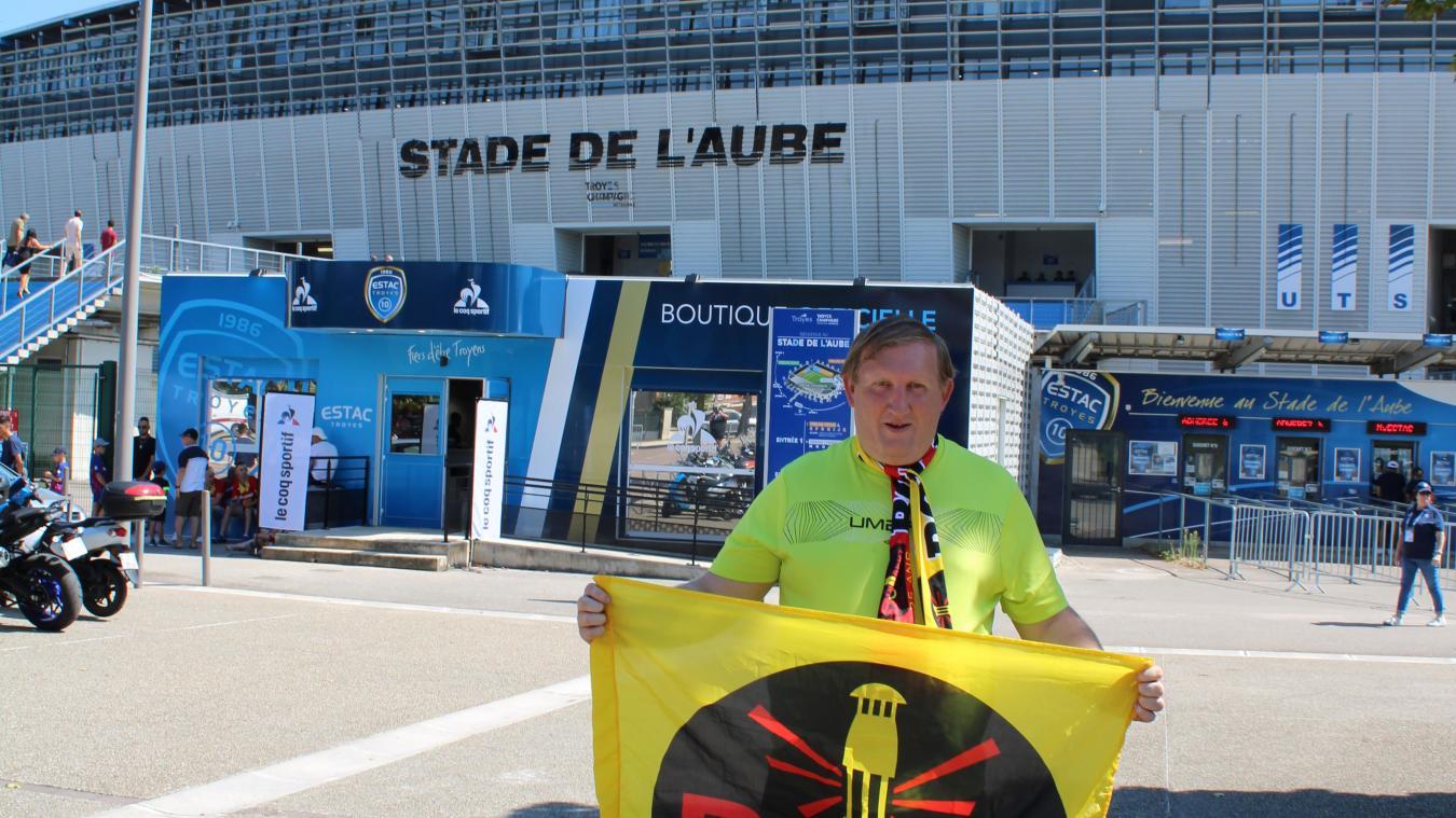 Le match qui a opposé Troyes à Lens était le 450 è  déplacement de Senec.