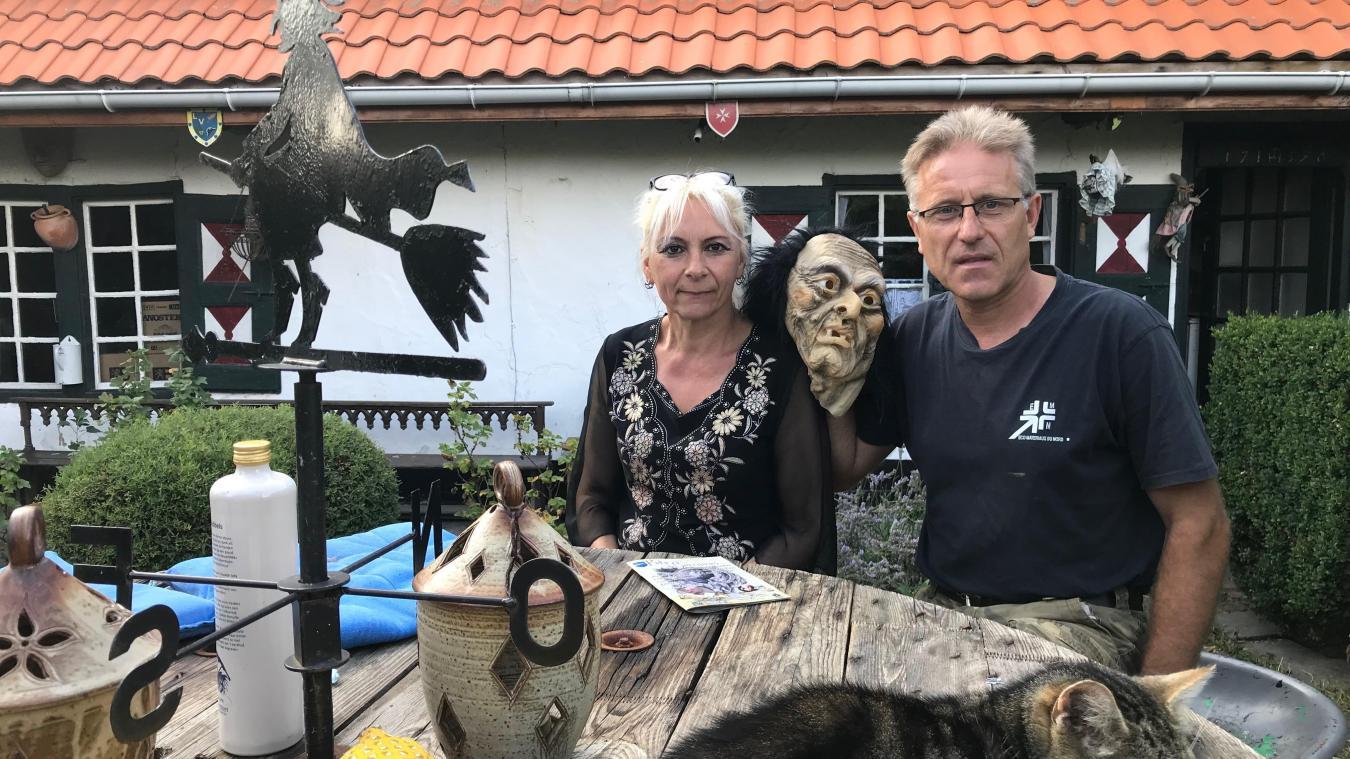 Barbara et Thierry Follet sont encore dans les préparatifs.
