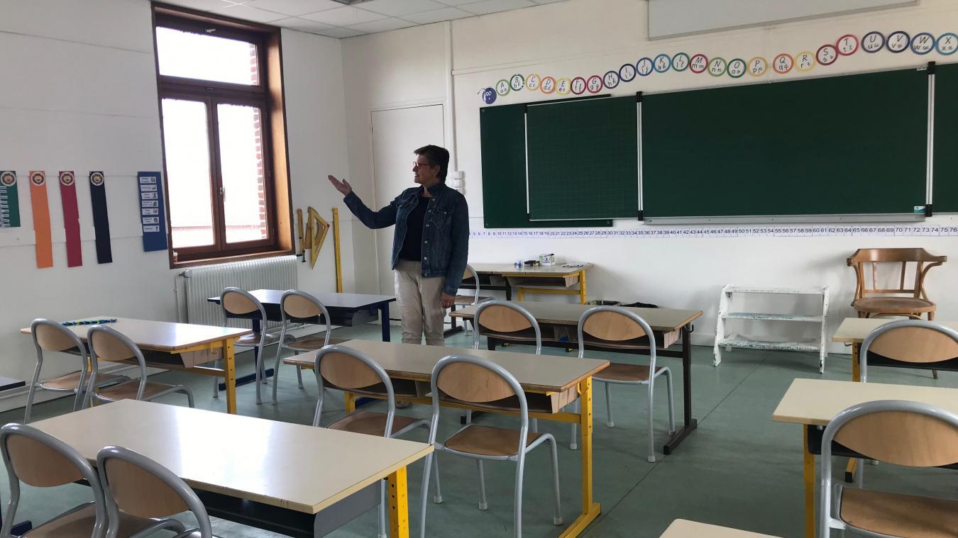 La création d'une sixième classe permettra aux élèves de CP et de CE1 d'être dans un cours simple.
