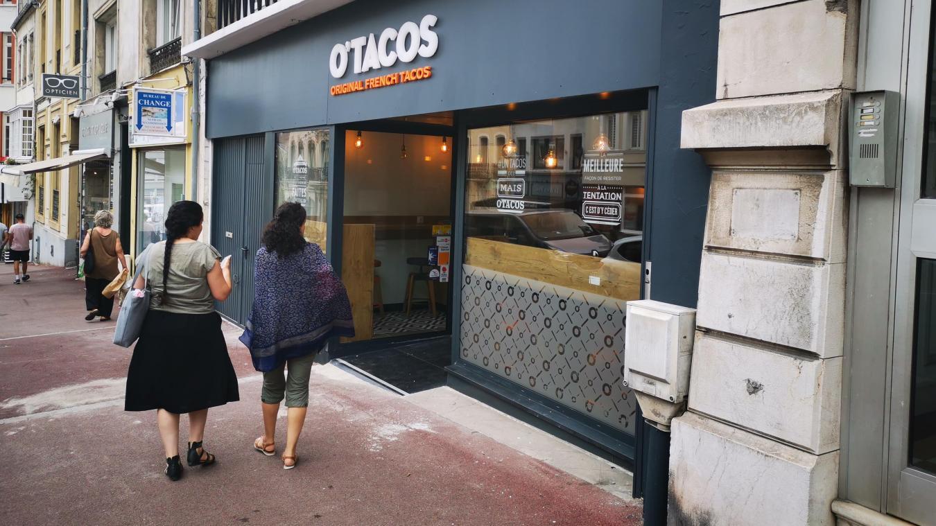 Boulogne-sur-Mer : O'Tacos, c'est ouvert !
