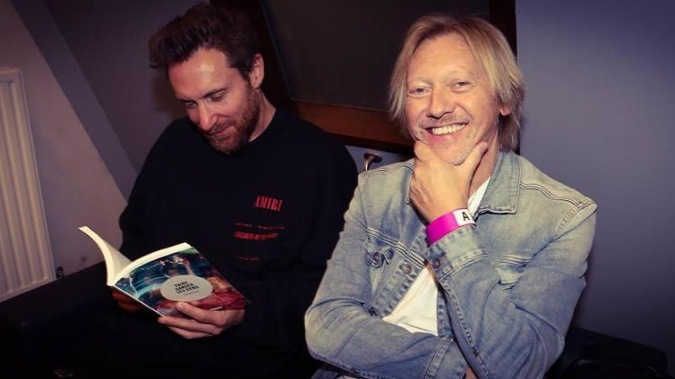 Fred Rister et son compère, David Guetta.