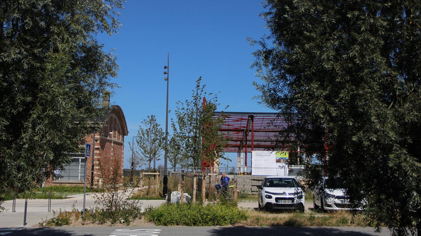 L'écoquartier des Alouettes s'affiche dans les rues, mais le devenir du quartier reste flou.