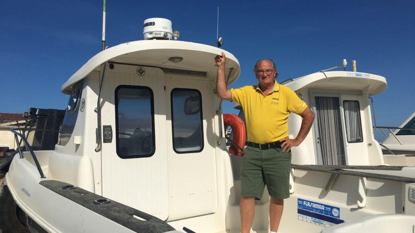 Passionné de pêche en mer, Daniel Lequien est membre du club nautique de Stella depuis plus de 20 ans. Il en est le président depuis le 22 avril dernier.