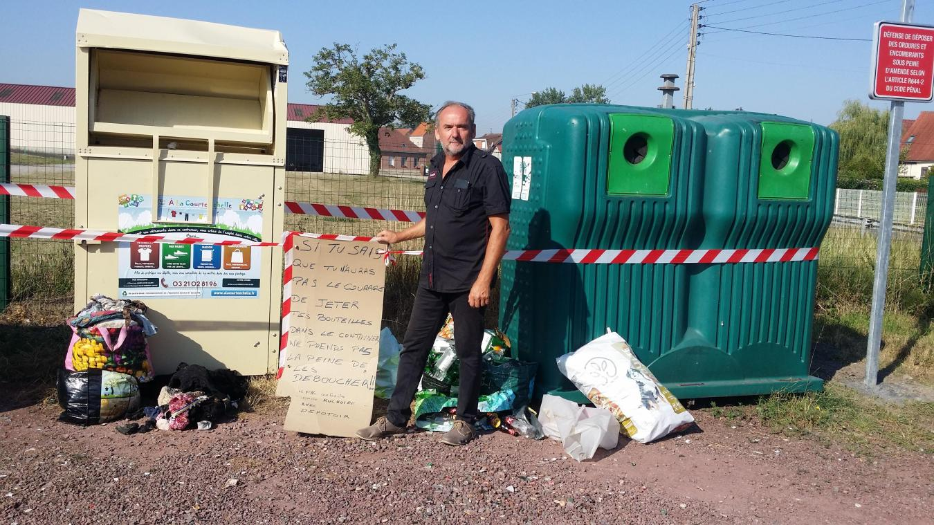 Allouagne : la commune est victimes de dépôts sauvages d'ordures, la mairie met en garde