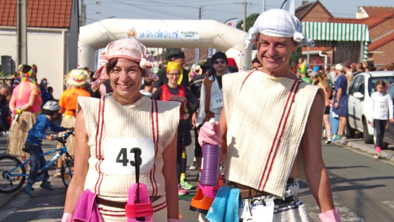 Philippe et Geneviève Porreye ont remporté à plusieurs reprises le titre du meilleur déguisement.