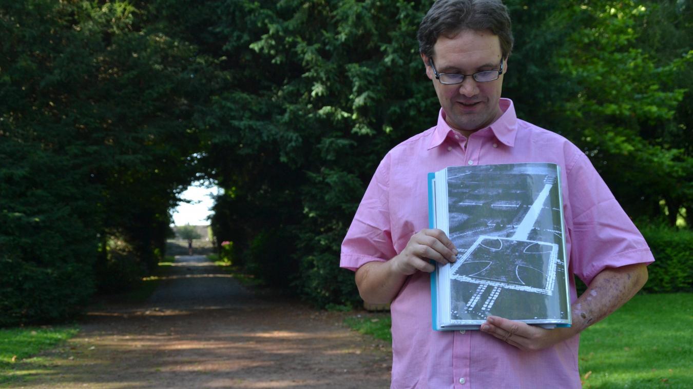 Cet été, la croix est apparue au mois de juillet. Eddy Goubinat, guide à l'office de tourisme, a eu l'occasion de la voir. L'an dernier, il a même pu la montrer à un groupe de visiteurs.