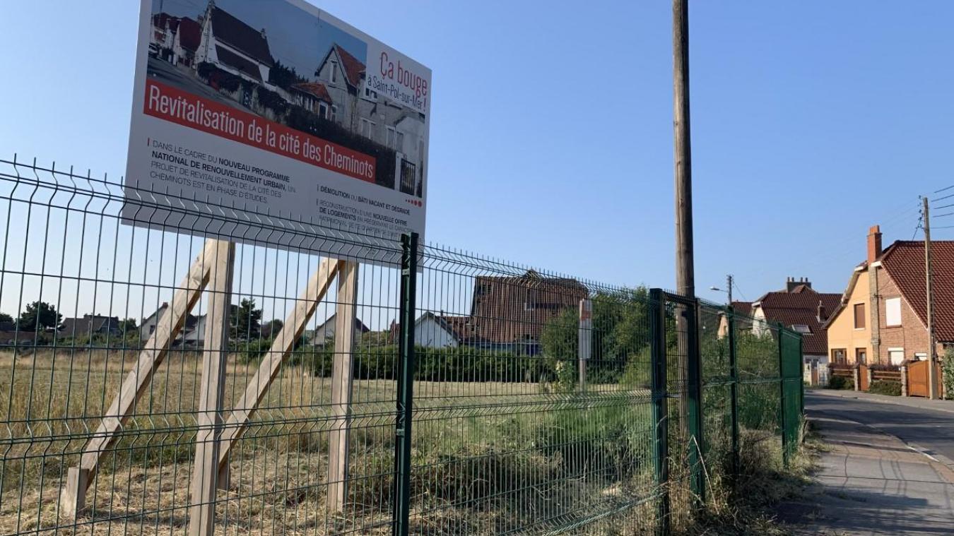 Le médicentre sera situé à la place de l'ancienne cité des cheminots.