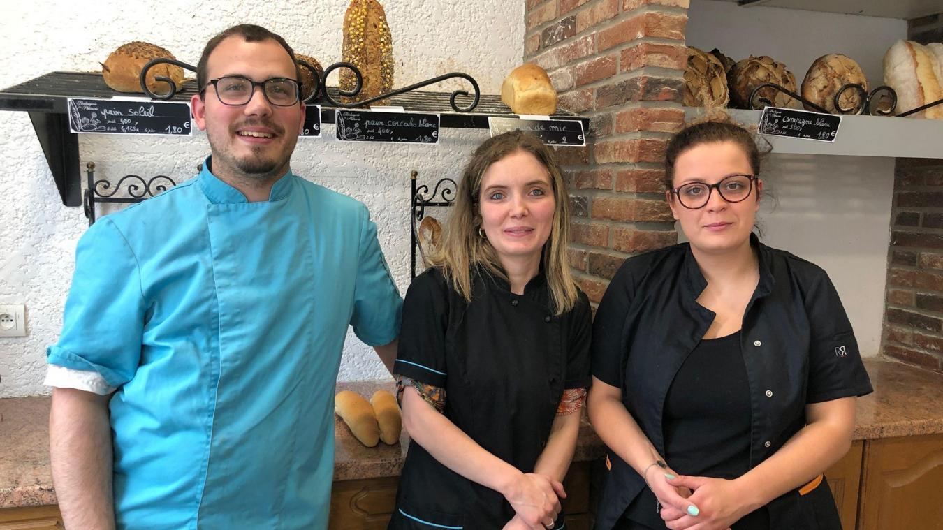 Les boulangers de Vieux-Berquin ont d'abord ouvert un dépôt de pain à Neuf-Berquin. Dimanche, ils rouvrent la boulangerie.