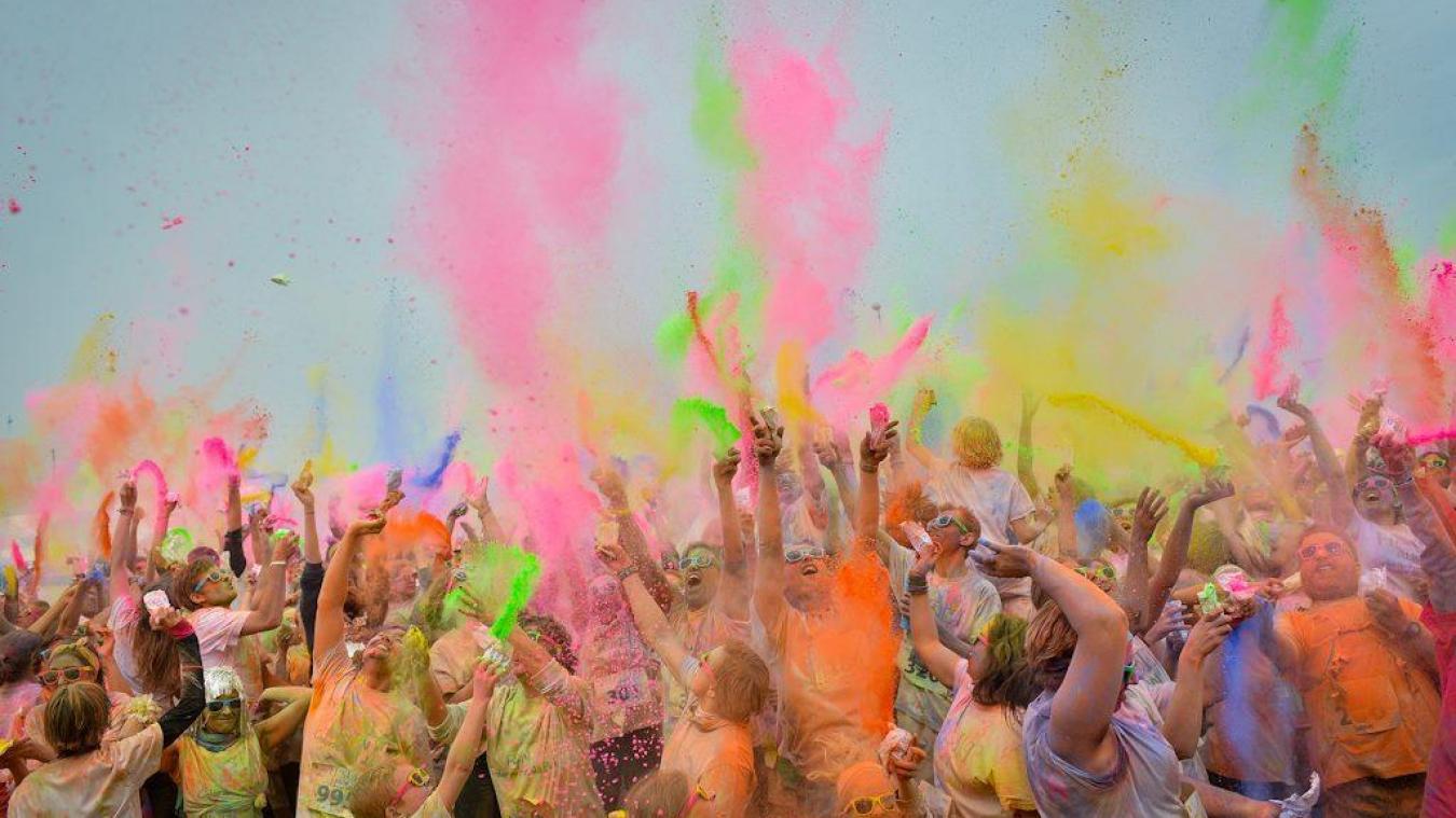 La deuxième édition de la Vlaande'run Color, c'est samedi!