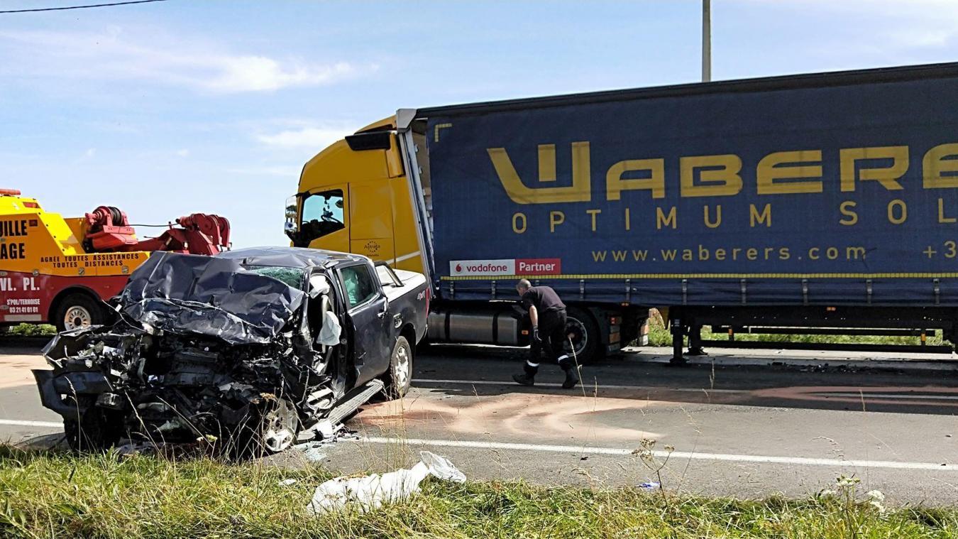 Diéval – Brias : accident mortel sur la RD 941, la circulation est coupée
