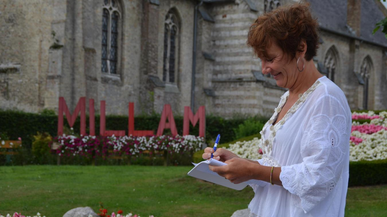 Corinne réside à Millam, un petit village pour lequel elle n'hésite pas à s'impliquer au quotidien.