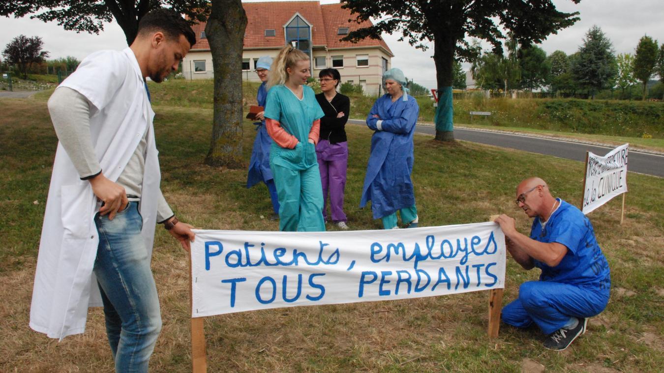 Le mardi 16 juillet dernier, les employés ont mené une action pour défendre leur emploi et l'établissement de proximité.