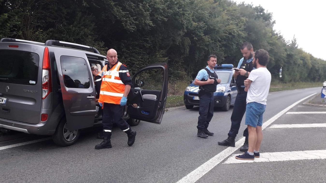 Une femme enceinte victime d'un malaise au volant entre Isbergues et Lillers