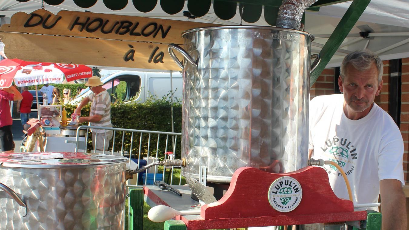 Entre les nombreux brasseurs présents, les visiteurs du Lupul'in pourront assister à un brassin public.