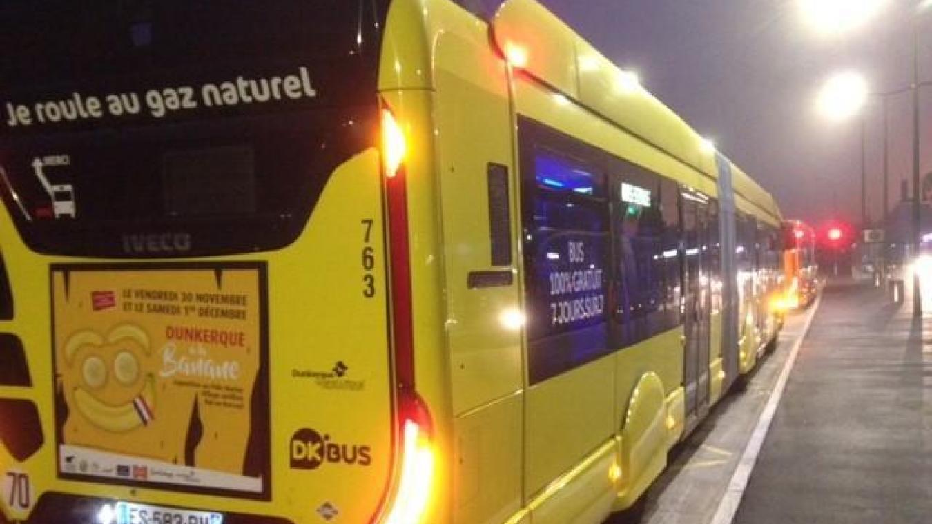 Le service Noctibus va notamment être prolongé ce samedi 31 août. Photo d'illustration