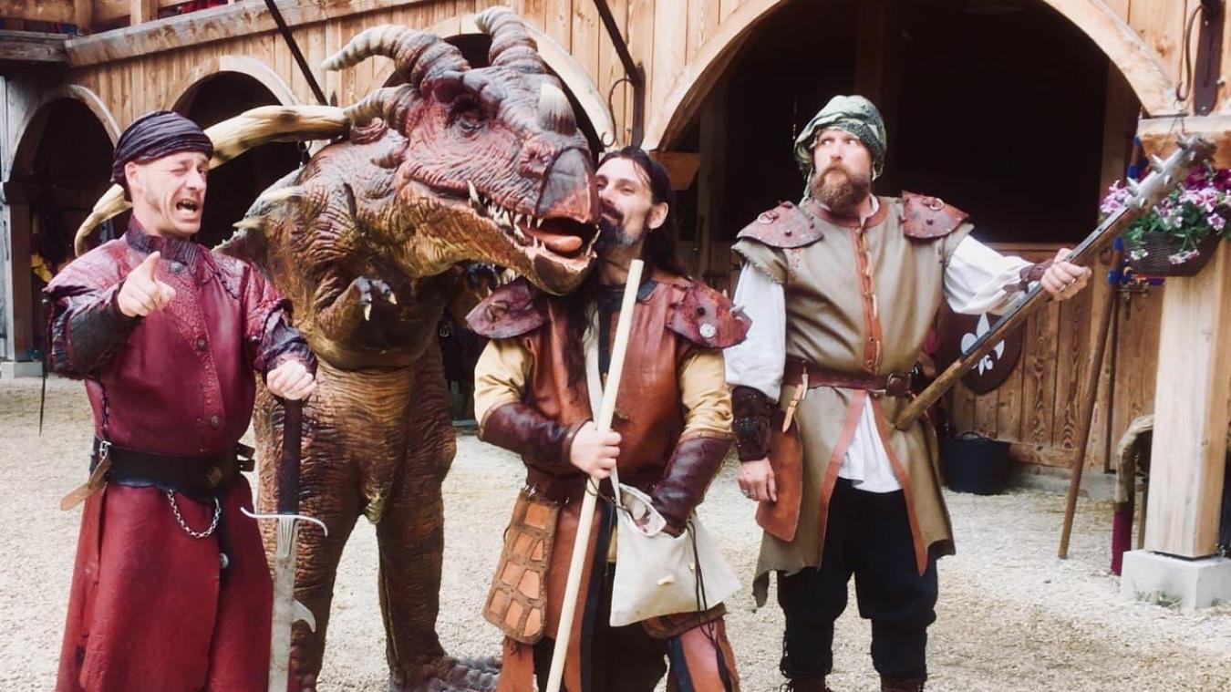 Le maître dragonnier sera à Looberghe le 1 er  septembre avec un compagnon pas comme les autres.