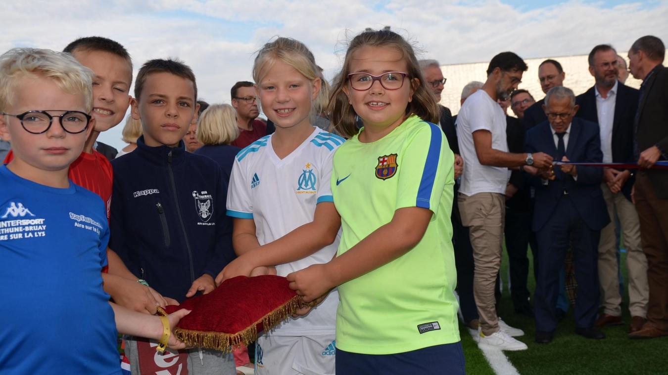 Pourquoi fallait-il un nouveau terrain de football à Aire-sur-la-Lys?