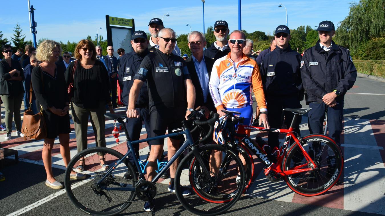 Nœux-les-Mines : en selle pour son Tour de France