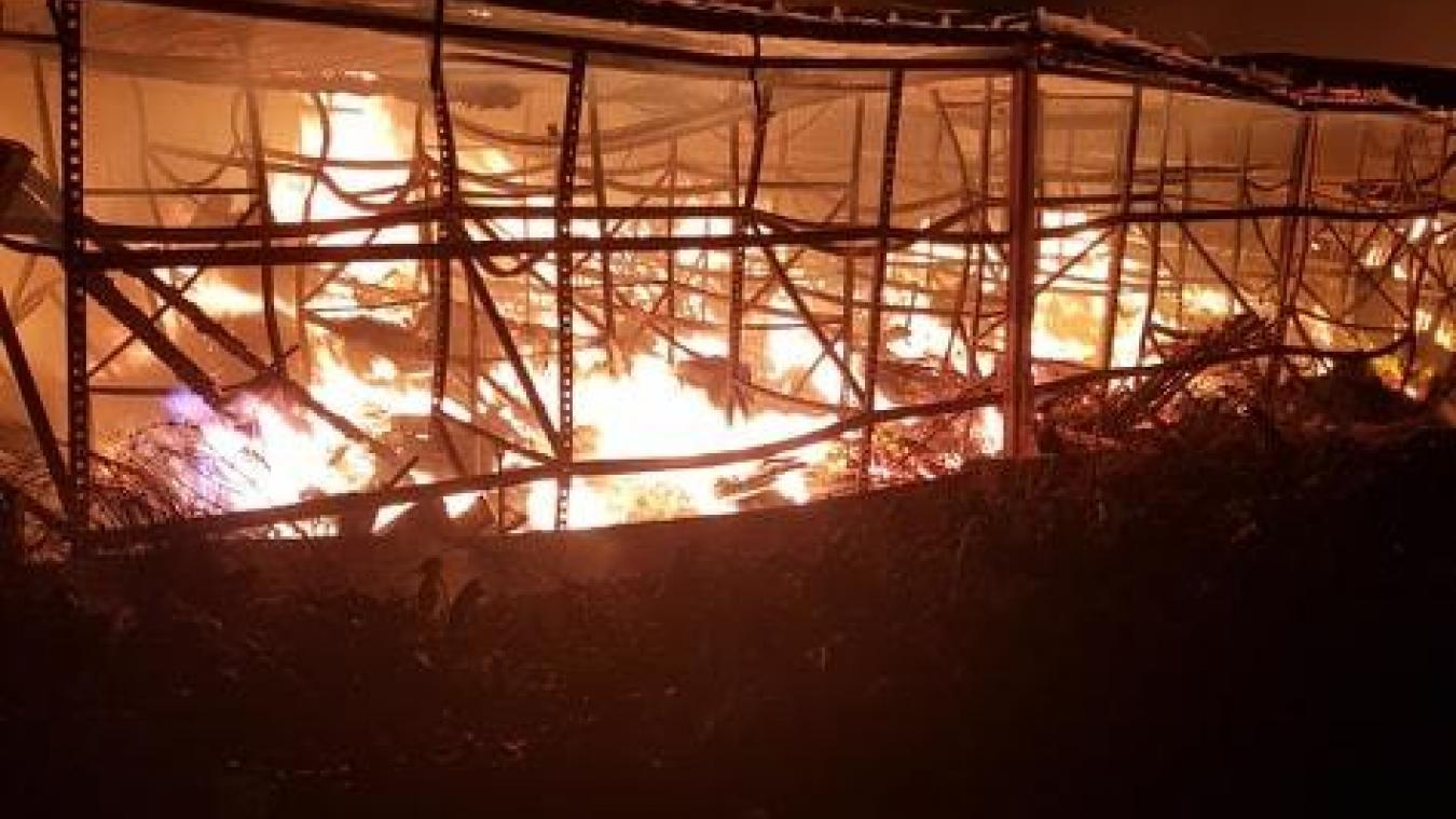 Chocques: un hangar incendié dans la nuit du 2 au 3 septembre
