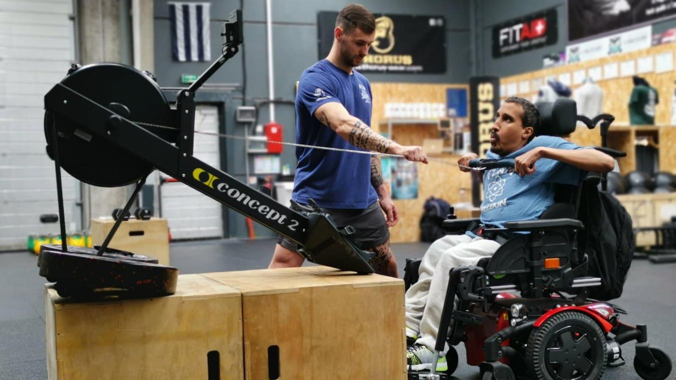 À l'image d'Habib, Pierre Ponchaux essaie de développer son sport auprès des personnes handicapées.